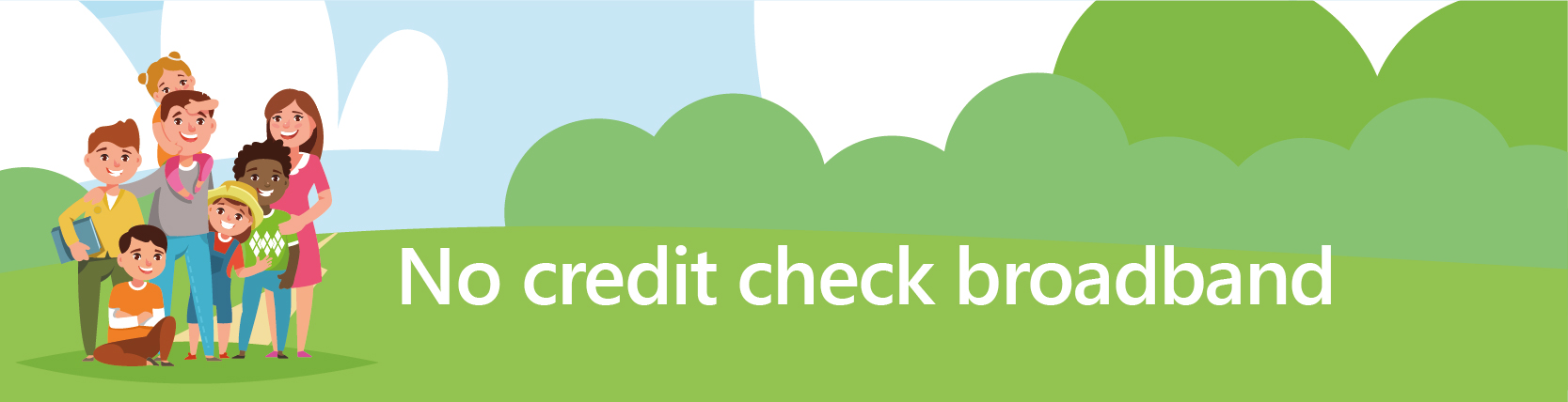 no credit check broadband